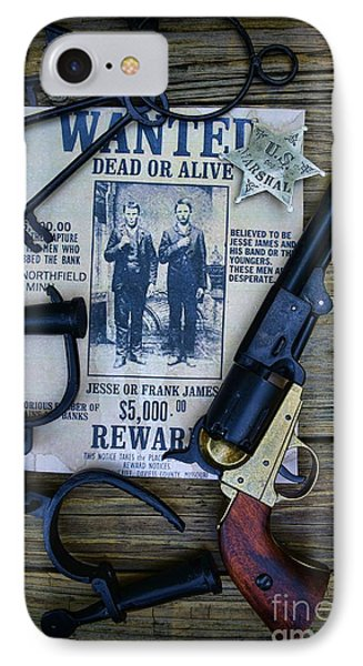 Cowboy - Law And Order IPhone Case