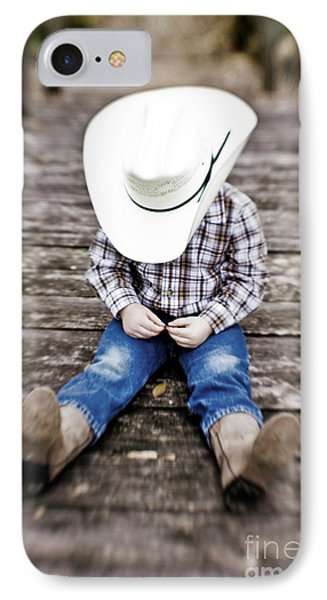 Cowboy Phone Case by Scott Pellegrin