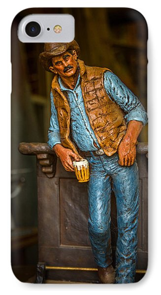 Cowboy IPhone Case by Todd Reese