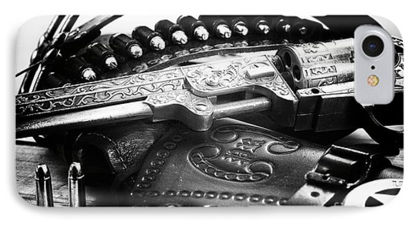 Cowboy Way Phone Case by John Rizzuto