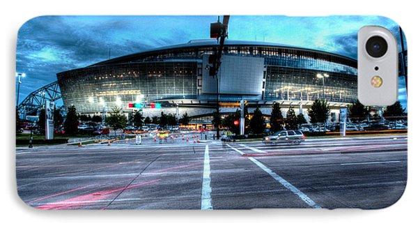 Cowboys Stadium Pregame IPhone Case by Jonathan Davison