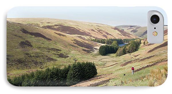Cowgill Upper Reservoir IPhone Case by Ashley Cooper