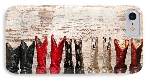 Cowgirls Night Out IPhone Case by Olivier Le Queinec