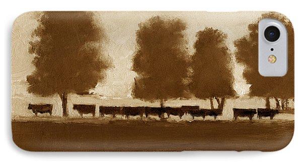 Cowherd IPhone Case by J Reifsnyder