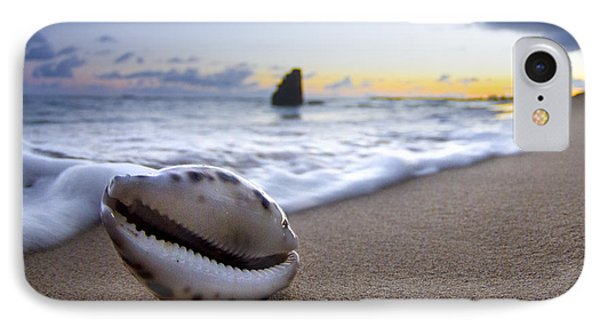 Cowrie Sunrise IPhone Case by Sean Davey