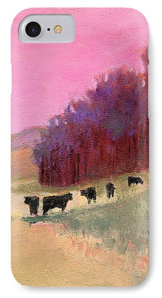 Cows 3 IPhone Case by J Reifsnyder
