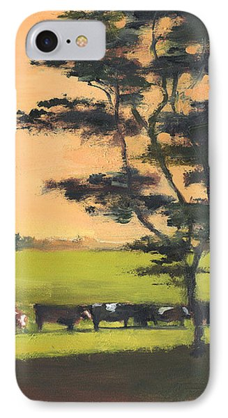 Cows 6 IPhone Case by J Reifsnyder