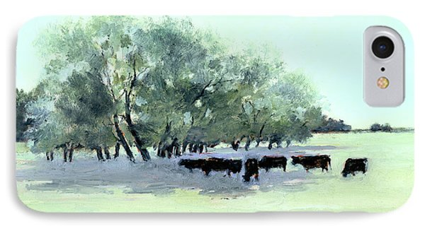 Cows 7 IPhone Case by J Reifsnyder