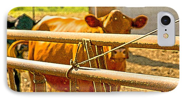 Cows Coming Home Phone Case by Artist and Photographer Laura Wrede