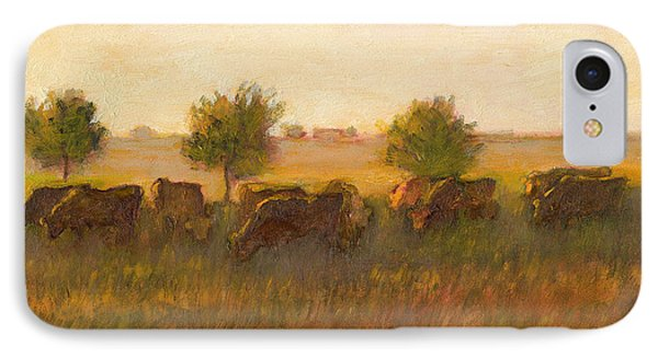 Cows1 IPhone Case by J Reifsnyder