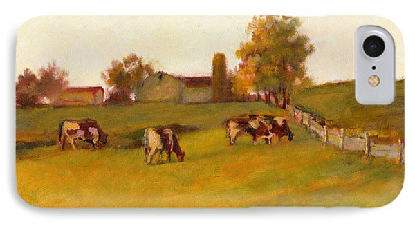 Cows2 IPhone Case by J Reifsnyder