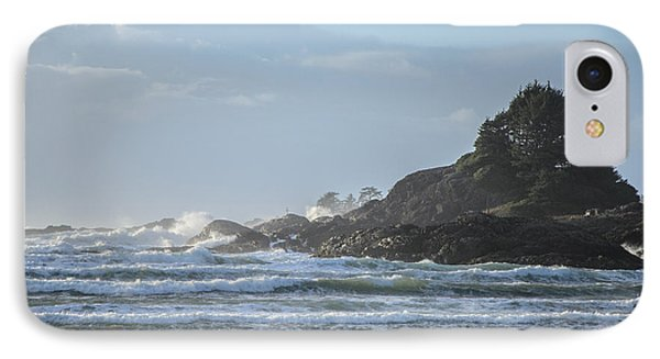 Cox Bay Afternoon Waves IPhone Case by Roxy Hurtubise