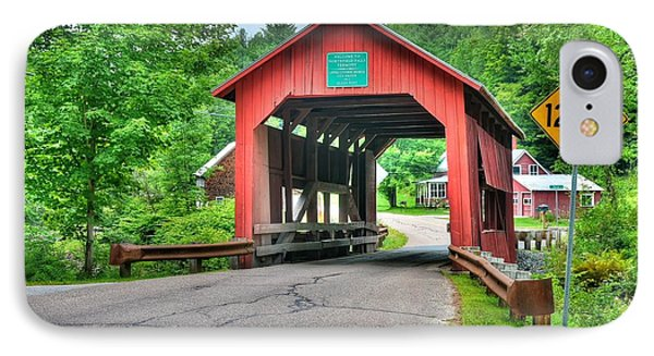 Cox Brook Bridge IPhone Case by John Nielsen