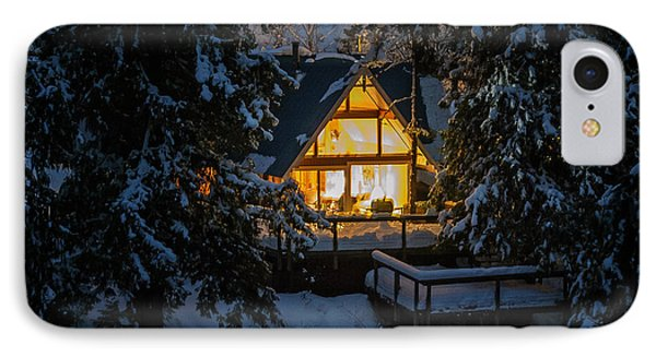 IPhone Case featuring the photograph Cozy Retreat by Dan Mihai