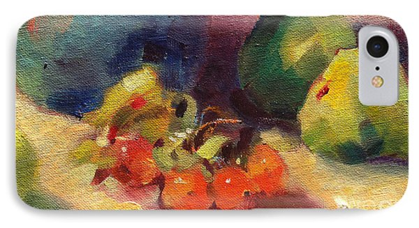 Crab Apples And Pears IPhone Case by Michelle Abrams