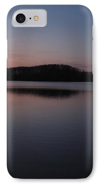 Crab Orchard Lake At Peace - 1 IPhone Case