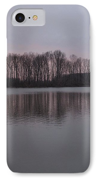 Crab Orchard Lake At Peace - 3 IPhone Case