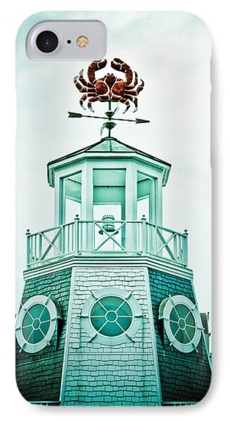 Crabby Weathervane Phone Case by Marilyn Hunt