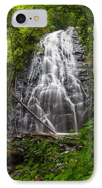 Crabtree Falls IPhone Case by David Cote