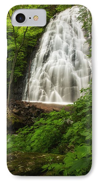 IPhone Case featuring the photograph Crabtree Falls by Photography  By Sai