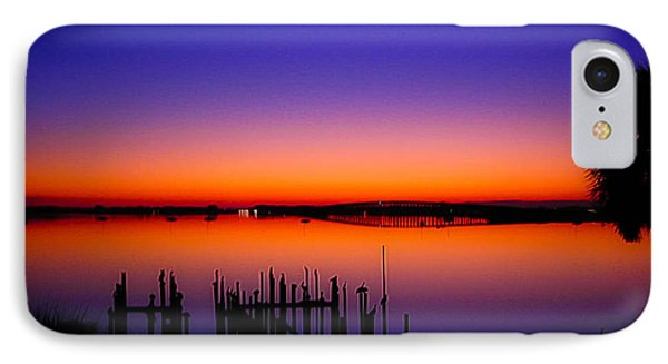 Crack Of Dawn IPhone Case by Shannon Harrington