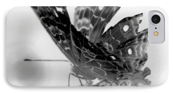 Cracked Wing Black White Close IPhone Case