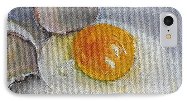 Cracked Egg IPhone Case by Kristine Kainer