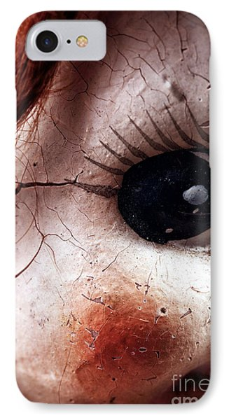 Cracked Eye Phone Case by John Rizzuto