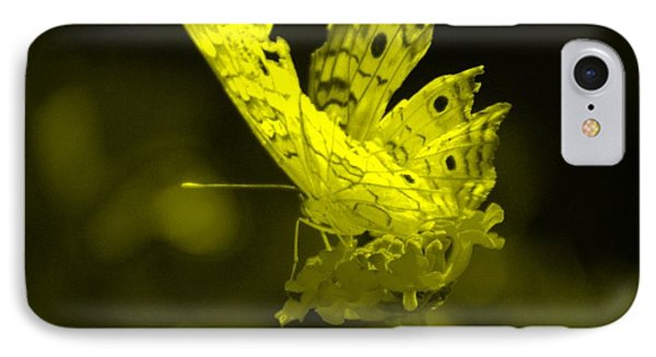 Cracked Wing In Yellow IPhone Case