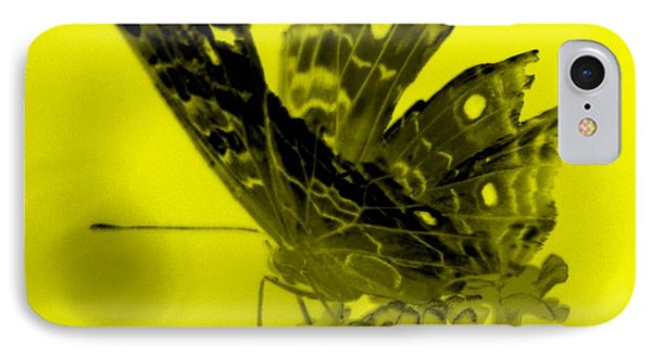 Cracked Wing Yellow Close IPhone Case