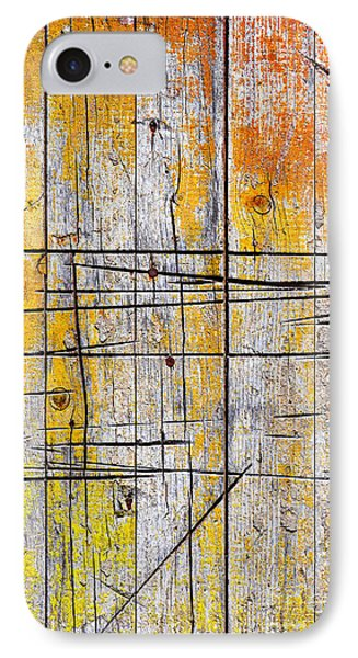 Cracked Wood Background Phone Case by Carlos Caetano