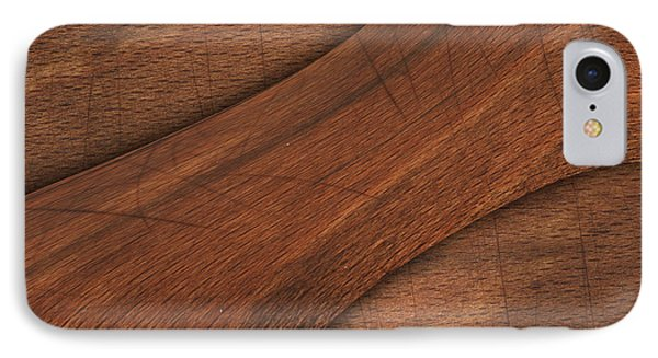 Cracked Wood Board  IPhone Case by Thanes