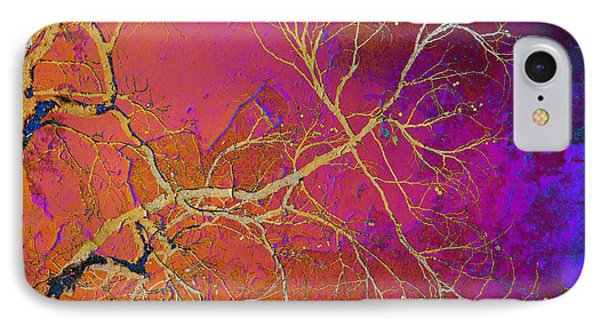 Crackling Branches IPhone Case