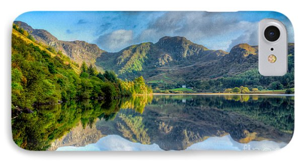 Craf Nant Lake Phone Case by Adrian Evans