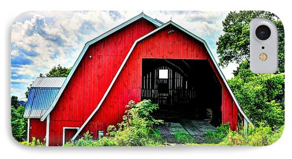 Craftsbury Barn IPhone Case by John Nielsen