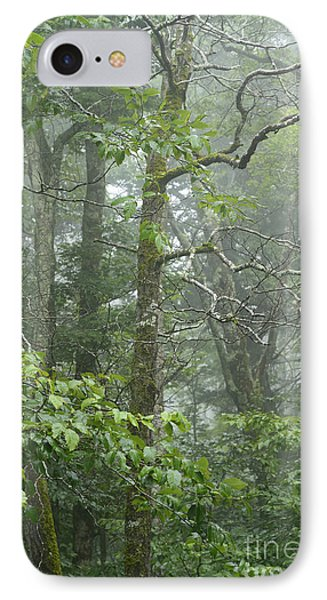 Cranberry Wilderness Mist IPhone Case by Thomas R Fletcher