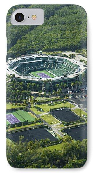 Crandon Park Tennis Center IPhone Case