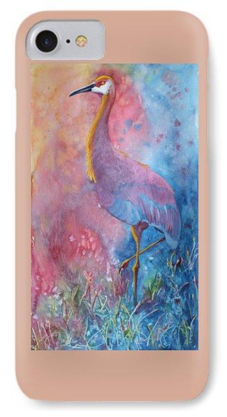 Crane IPhone Case by Nancy Jolley