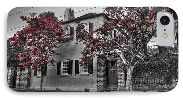 Crape Myrtles In Historic Downtown Charleston 1 IPhone Case
