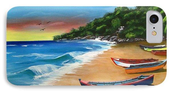 Crashboat Beach Wonder IPhone Case by Luis F Rodriguez