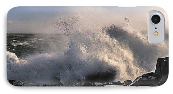 Crashing Surf IPhone Case by Marty Saccone
