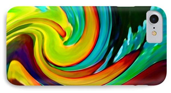 Crashing Wave Phone Case by Amy Vangsgard