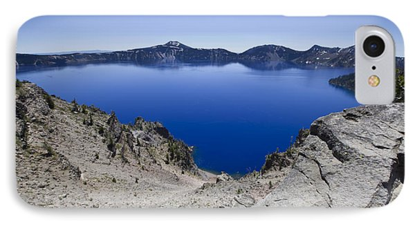 Crater Lake IPhone Case by David Millenheft