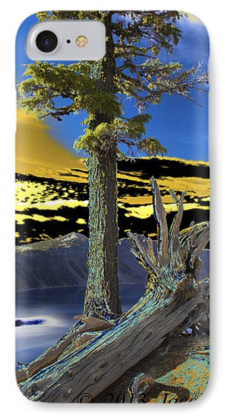 Crater Lake Phone Case by Jacob Sela