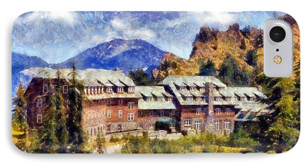 Crater Lake Lodge IPhone Case by Kaylee Mason