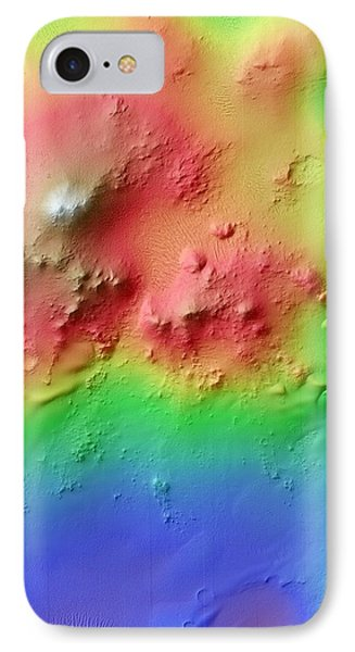 Crater Uplift IPhone Case by Nasa