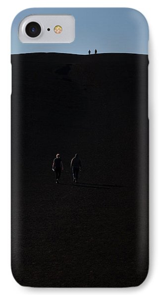 Craters Of The Moon Volcanic Cone IPhone Case by Jim West