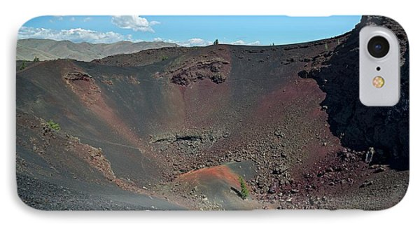 Craters Of The Moon Volcanic Crater IPhone Case by Jim West