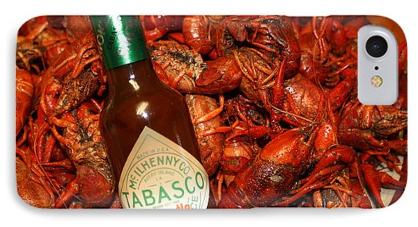 Crawfish And Tabasco IPhone Case