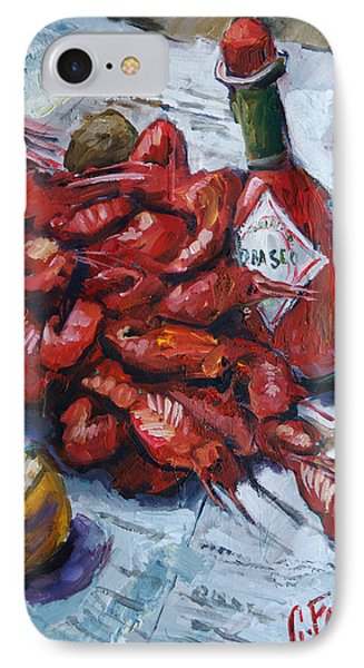 Crawfish Tabasco Painting By Carole Foret